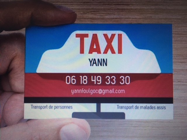 carte de visite Yann Foulgoc